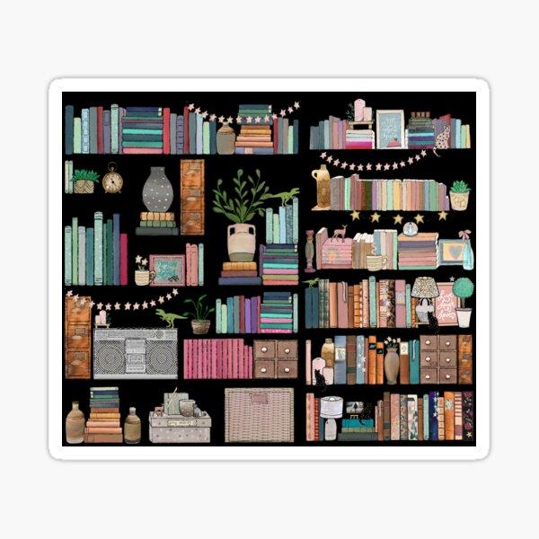Boho Bear Mega Book Shelf Sticker