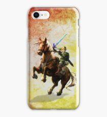 Legend Of Zelda Advanture Link iPhone Case/Skin