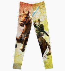 Legend Of Zelda Advanture Link Leggings