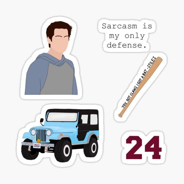 Stiles Stilinski Sticker Pack Sticker