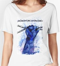 Hand with Barbed Wire 3 Women's Relaxed Fit T-Shirt