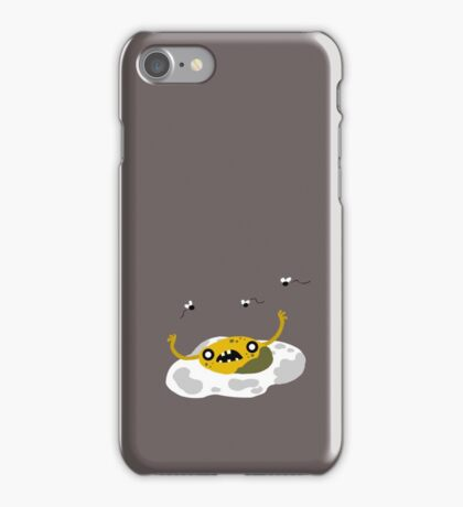 Egg Zombie Food Edition iPhone Case/Skin