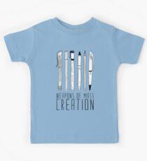 Weapons Of Mass Creation Kids Tee