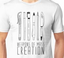 Weapons Of Mass Creation Unisex T-Shirt