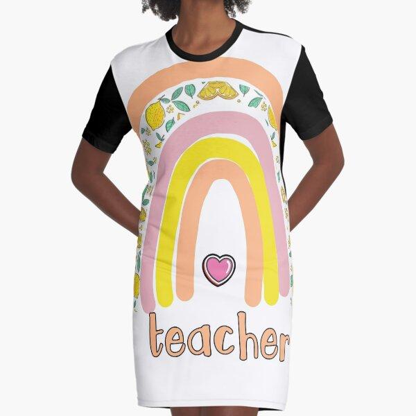 Teacher love Graphic T-Shirt Dress