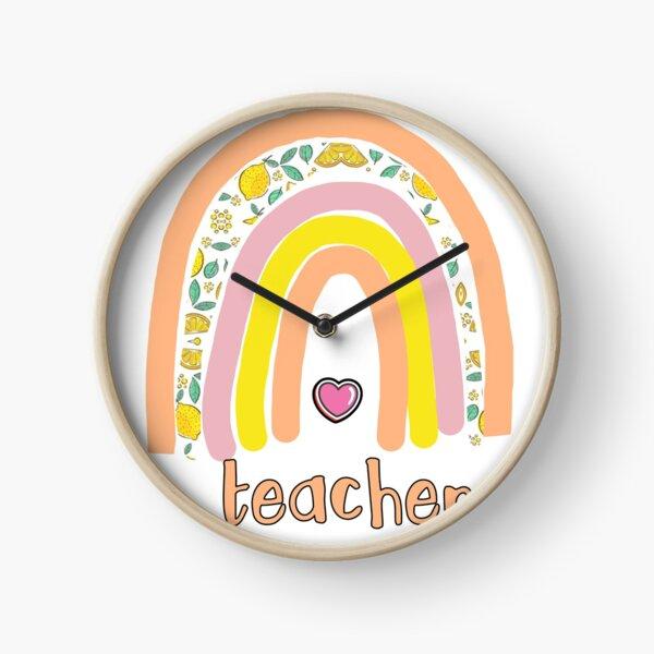 Teacher love Clock