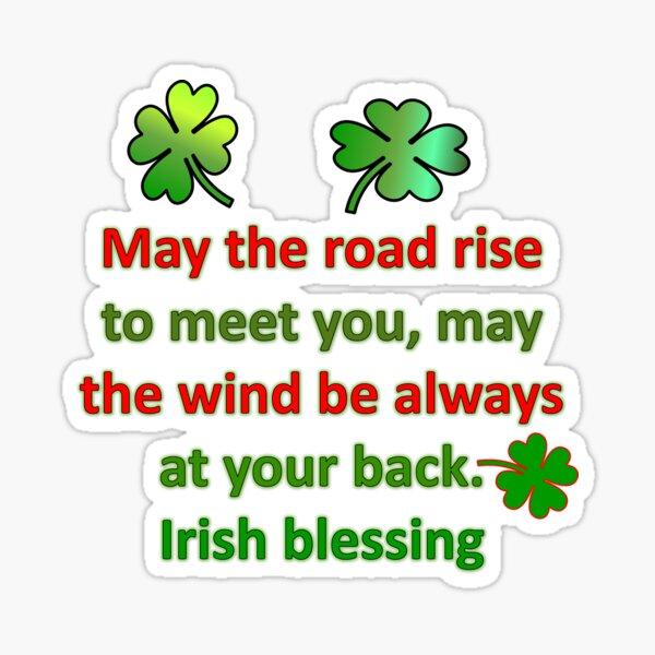 Irish Blessing Sticker
