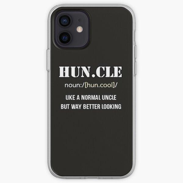 Define Cool Uncle iPhone Soft Case
