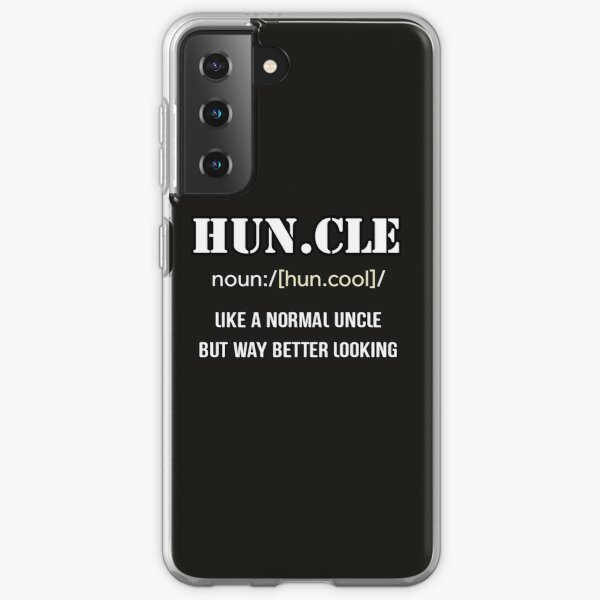 Define Cool Uncle Samsung Galaxy Soft Case