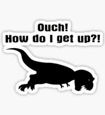 Tyrannosaurus Rex T-shirt - Dinosaur Sticker  Sticker