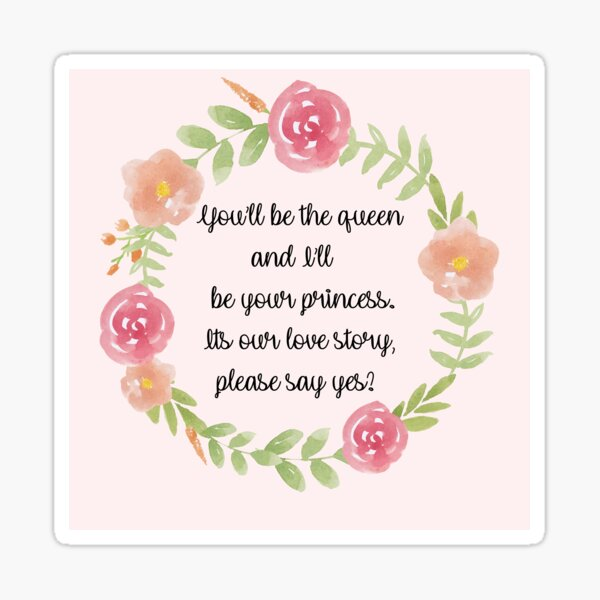 Every Queen needs a princess to rule by her side Sticker