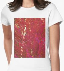 Gabs Red Trees Women's Fitted T-Shirt