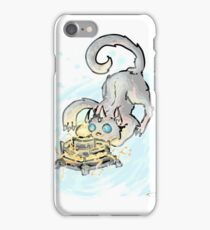 Clockwerk cat iPhone Case/Skin