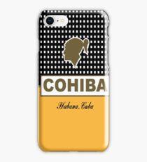 Cohiba Habana Cuba Cigar iPhone Case/Skin