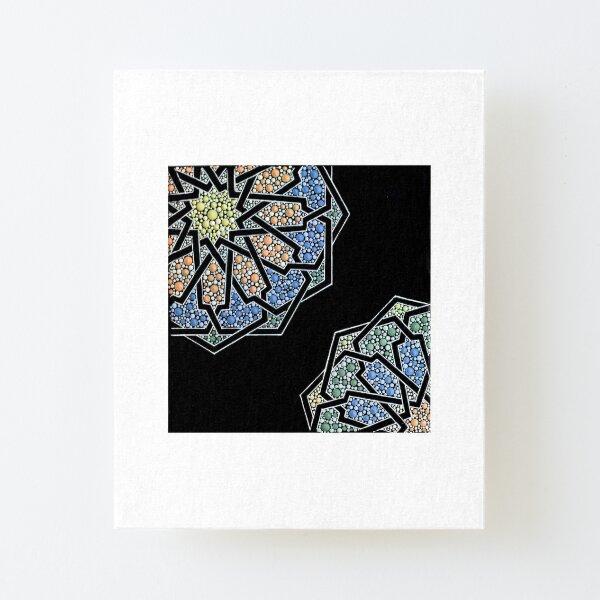 Mosaic - Dot art geometry Canvas Mounted Print
