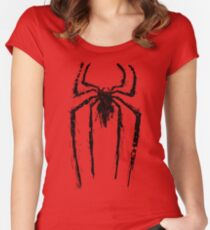 Spider logo Women's Fitted Scoop T-Shirt