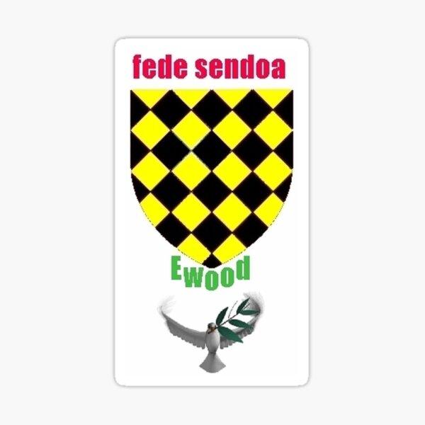 House of Ewood - Fede Sendoa - Strong Faith Sticker