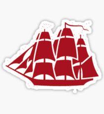 Navy Ship Sticker