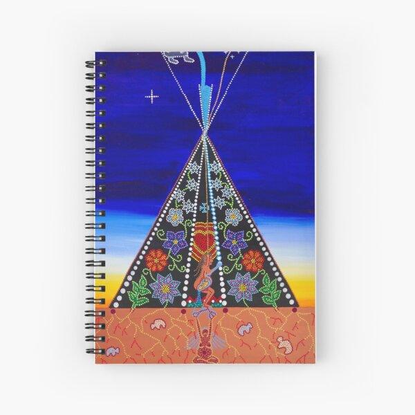 ᑳᐆᐧᑎᓂᑫᐄᐣ ~ kâwôtinikêwin ~ reclamation Spiral Notebook