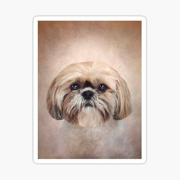 Shih Tzu dog - Art - D83 Sticker