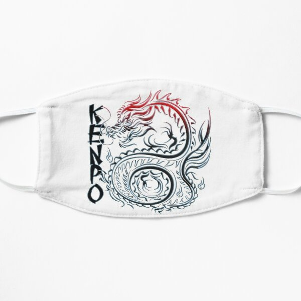 Kenpo - Dragon T-Shirt Flat Mask