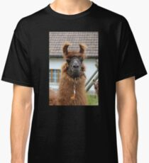 Llama Cell Phone Case - Sticker Classic T-Shirt