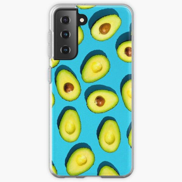 Avocado Muster Telefonhülle Samsung Galaxy Flexible Hülle