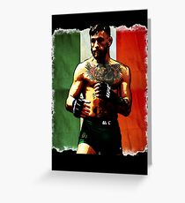 Conor McGregor Greeting Card