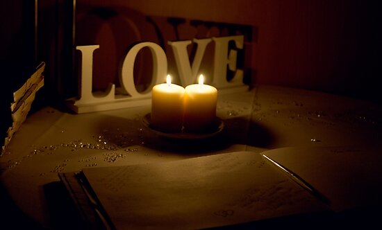 Leave your messages of Love... by Trudi Skinn