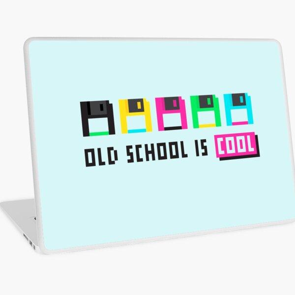 80s Disks Laptop Skin