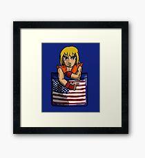 Street Fighter Pocket Pals - #2 Ken Framed Print