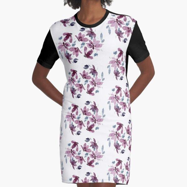 Daphne (Pink Palette) Graphic T-Shirt Dress