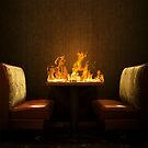 BURNING TABLE by jouch