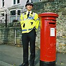 Bobby Policeman in Wales, Very British photography by Remo Kurka
