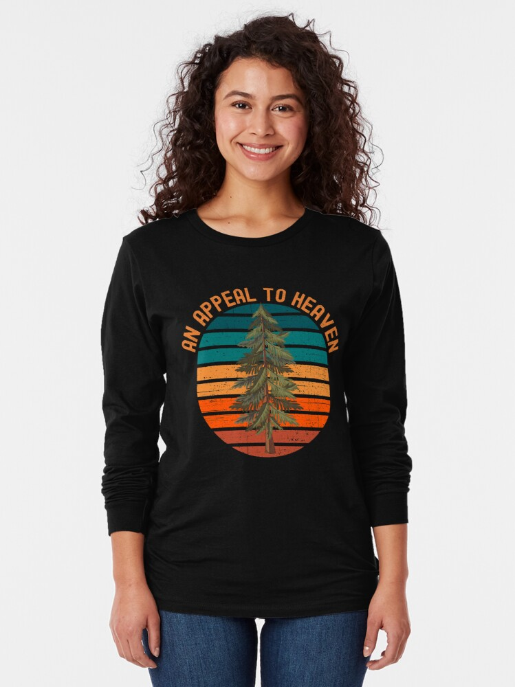 Alternate view of Appeal to Heaven Pine Tree Flag Long Sleeve T-Shirt