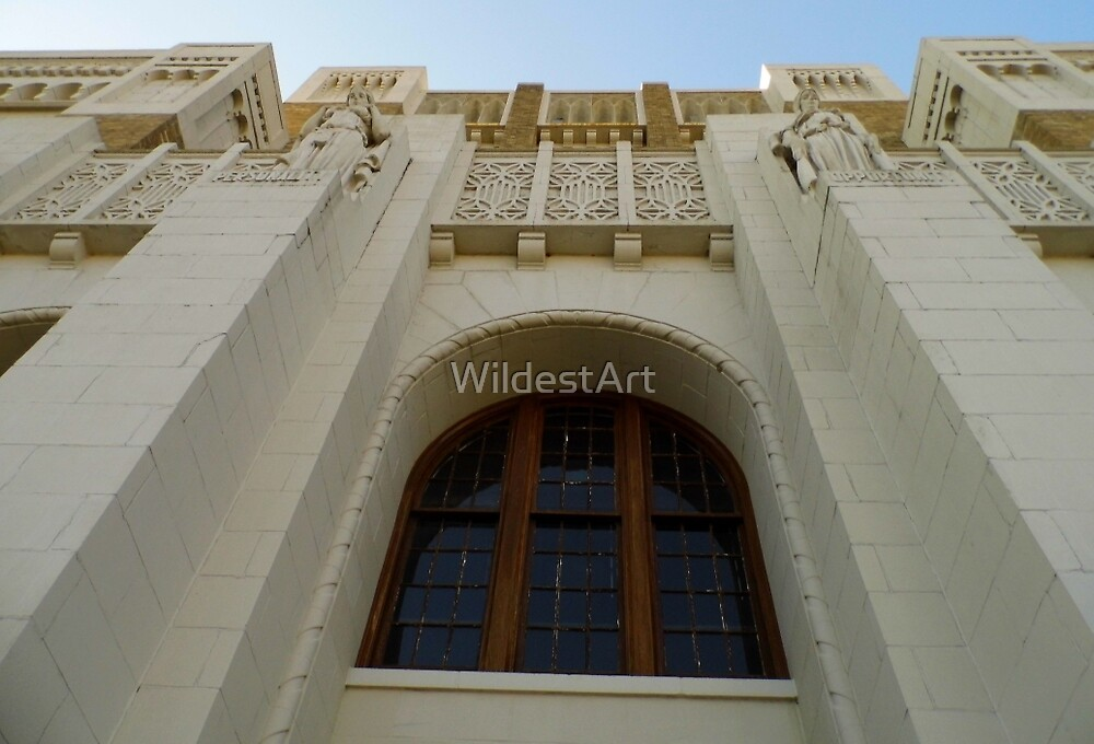 The Windows Of Central High by WildestArt