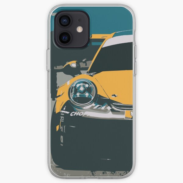 Porshche 911 GT3 on the grid iPhone Soft Case