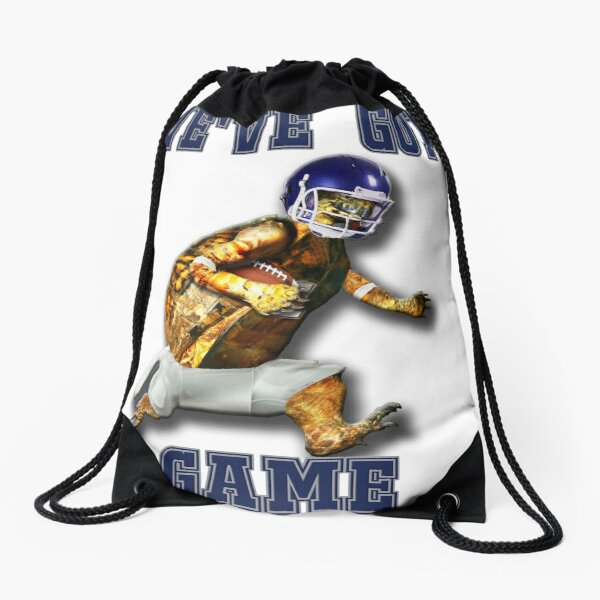 Turtle Football Player - We've Got Game Drawstring Bag