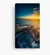 Griffiths Island Sunrise Vertical Pano Canvas Print