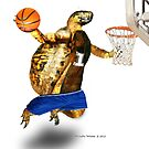 Turtle Basketball Player by LuckyTortoise