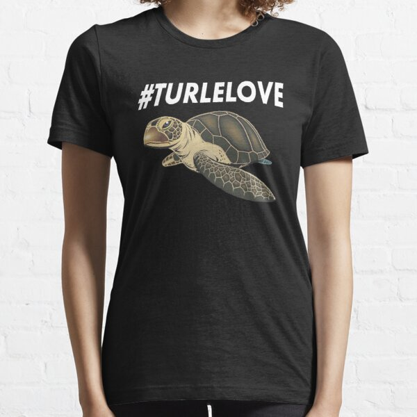 Turtle Lover Turtle Diving Shirt |Swimming Sea Essential T-Shirt