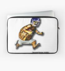 Turtle Football Player Laptop Sleeve