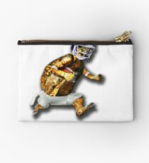 Turtle Football Player Studio Pouch