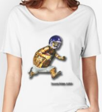 Turtle Football Player Women's Relaxed Fit T-Shirt