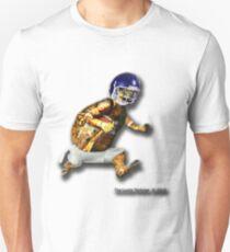 Turtle Football Player Unisex T-Shirt