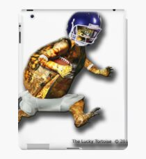 Turtle Football Player iPad Case/Skin