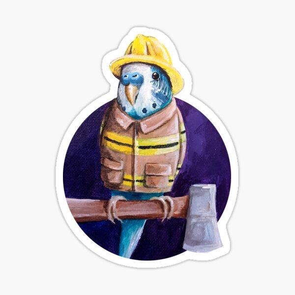 Paramedikeet Sticker