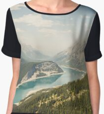 Spray Lakes Chiffon Top