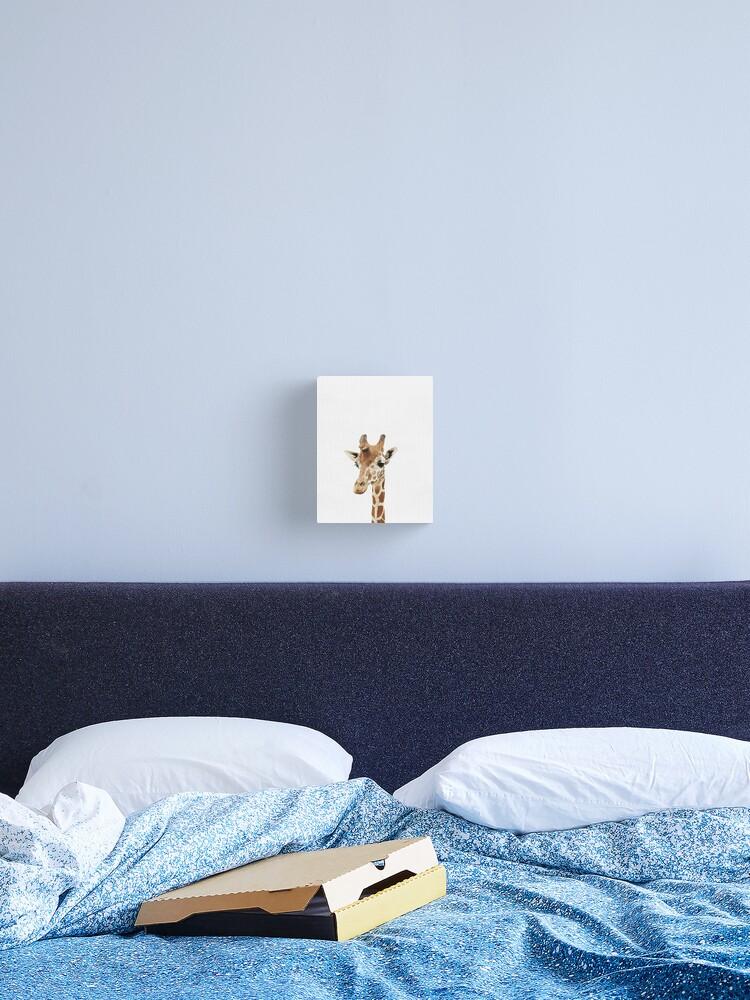 Baby Giraffe, Nursery, Animal, Kids room, Modern art, Wall decor | Canvas  Print