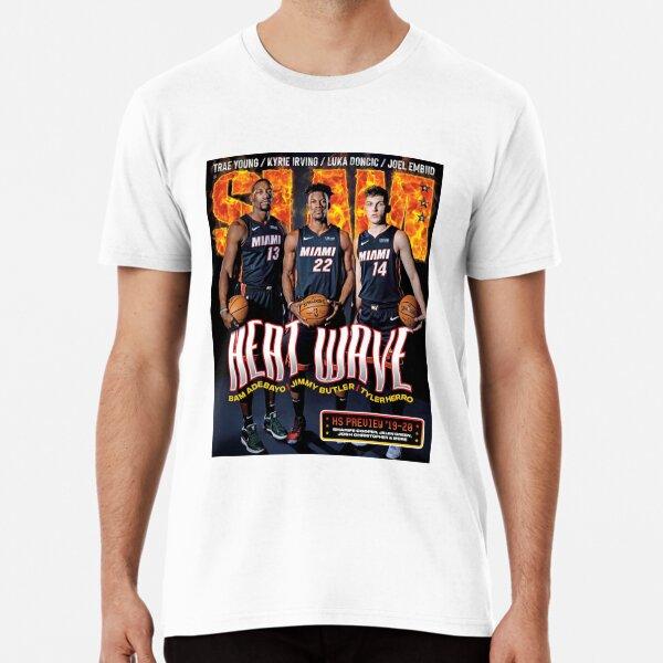 bam adebayo, jimmy butler et tyler herro | slam magazine T-shirt premium